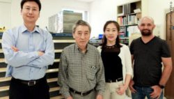 "Image: Left to right: Yuanxun ""Ethan"" Wang, Tatsuo Itoh, Zhi Yao, and Rustu Umut Tok.; Copyright: UCLA Samueli Engineering"