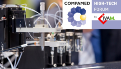 Image: technical product with COMPAMED HIGH-TECH FORUM logo; Copyright: Messe Düsseldorf