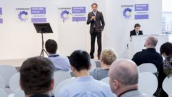 Photo: Speech by COMPAMED SUPPLIERS FORUM