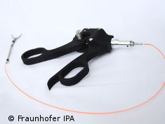 Photo: Hydraulic instrument of the Fraunhofer IPA