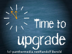 "Graphic: ""Time to upgrade"""