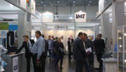 Photo: Product forum of IVAM at COMPAMED 2014