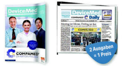 Image: Cover of COMPAMED Preview and COMPAMED daily