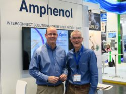 Image: Gordon Udall and Perry Freeman of Amphenol Alden; Copyright: beta-web/Schlüter
