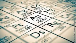 Image: chemical element gold; Copyright: PantherMedia / Antoine2K