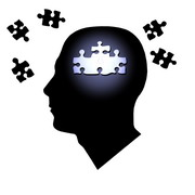 Photo: Last puzzle pieces missing from a human head