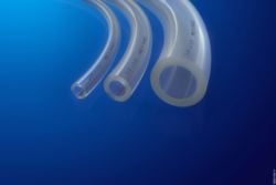 Image: Silicone tubes for medical and pharmaceutical applications; Copyright: RAUMEDIC AG