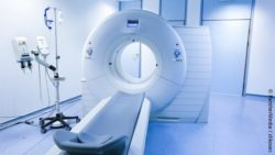 Image: CT in a hospital ; Copyright: PantherMedia / zlikovec