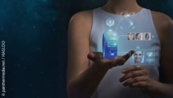 Image: Wearables are portable systems that contain sensors to collect measurement data from our bodies; Copyright: panthermedia.net / HASLOO