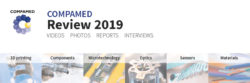 Image: Banner of COMPAMED 2019 Live coverage; Copyright: Messe Düsseldorf