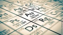 Image: chemical element gold ; Copyright: PantherMedia / Antoine2K