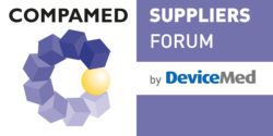 Image: logo of the COMPAMED SUPPLIERS FORUM