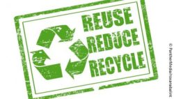 Image: Green logo, Reduce, Reuse, Recycle; Copyright: PantherMedia/roxanabalint