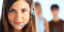 Photo: Woman with headset