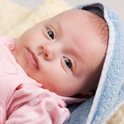 Photo: Baby in towel