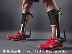 Photo: Passive-elastic ankle exoskeleton