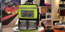 Image: A colorful backpack for emergency medicine; Copyright: beta-web/Schlüter