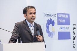 Image: Speaker at COMPAMED SUPPLIERS FORUM by DeviceMed