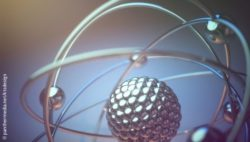 Image: 3D illustration of an atom model; Copyright: panthermedia.net/ktsdesign