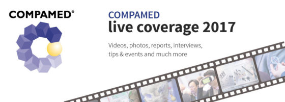 Image: Banner of COMPAMED 2017 live coverage