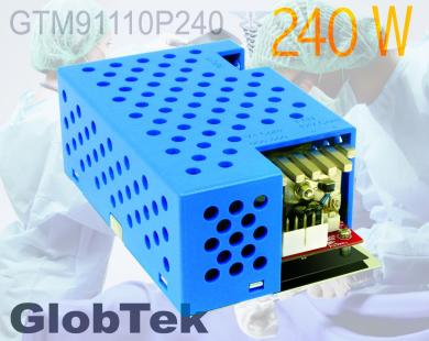 GTM91110P240 Family of open-frame AC/DC switchmode power supplies from GlobTek