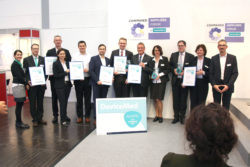 Image: The winners of the DeviceMed Award; Copyright: DeviceMed
