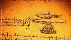Photo: Da Vinci Drawing