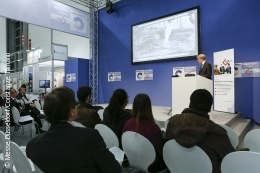 Photo: Lecture in COMPAMED HIGH TECH FORUM