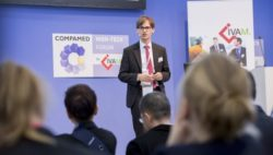 Photo: Speech by COMPAMED HIGH-TECH FORUM