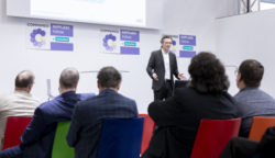 Foto: Lecture at the COMPAMED SUPPLIERS FORUM