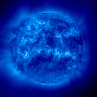 Photo: The sun in an ultraviolet image