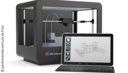 Photo: Stereolithographic 3D Printer