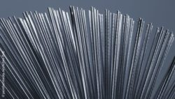 Image: A pile of metal rods; Copyright: panthermedia.net/Achim Prill