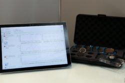 Image: data loggers in a transport case; Copyright: beta-web/Klein