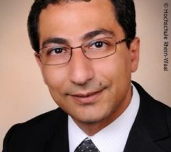 Picture: Man with dark hair and glasses - Professor Amir Fahmi; Copyright: Rhine-Waal University