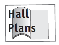 Graphic: media channels - hall plans