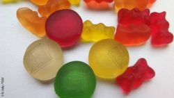 Image: Collection of jelly bears and jelly bear sensors; Copyright: N. Adly / TUM