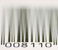 Photo: A barcode
