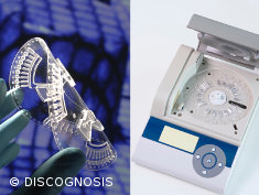 Photo: The LabDisc device from the DISCOGNOSIS project