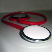 Photo: A stethoscope